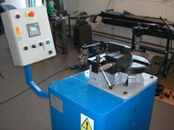 bender of iron sections EBM 25 with control unit