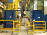 Service platform for welding workplace